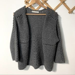 House of Harlow 1960 Open Knit Cardigan